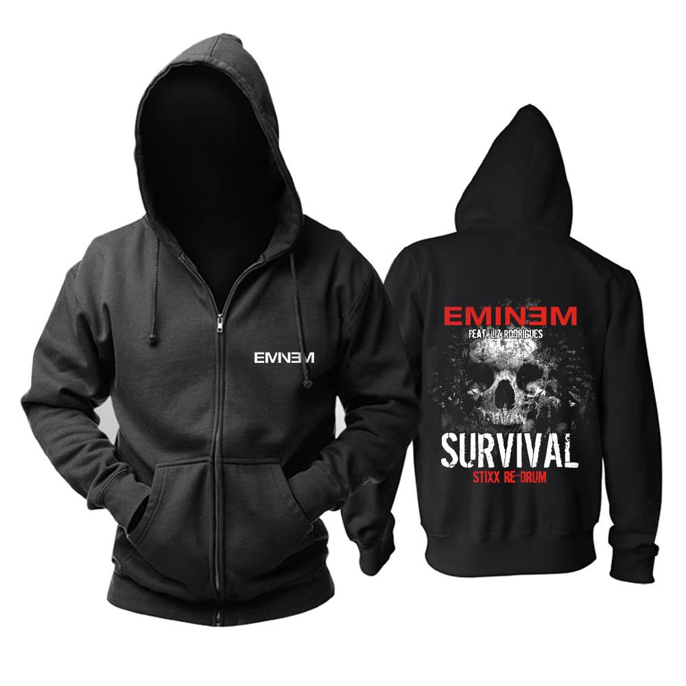 Collectibles Hoodie Eminem Survival Black Pullover