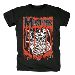 Merch T-Shirt Misfits Death Comes Ripping