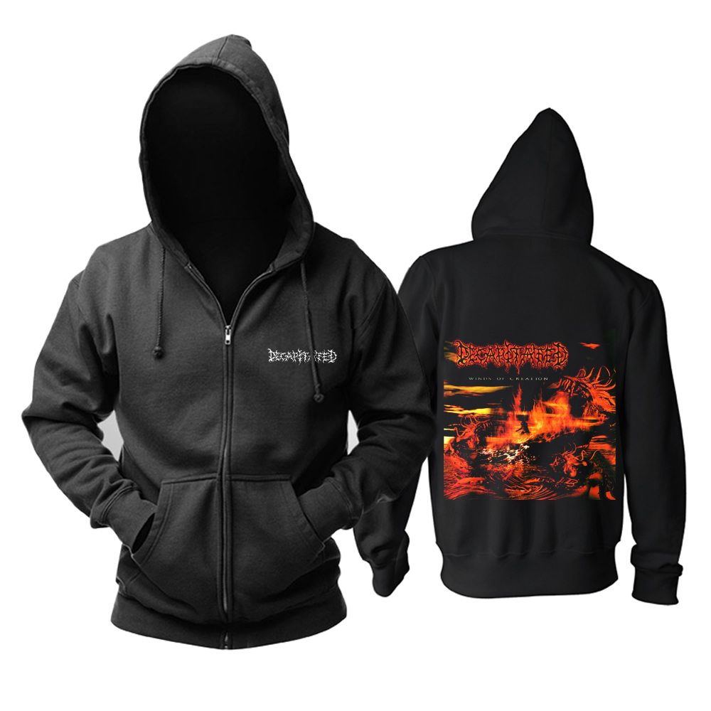 Merch Hoodie Decapitated Winds Of Creation Pullover