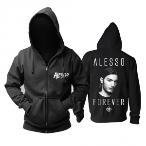 Collectibles Hoodie Dj Alesso Forever Black Pullover