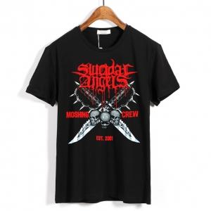 Merchandise - T-Shirt Suicidal Angels Moshing Crew