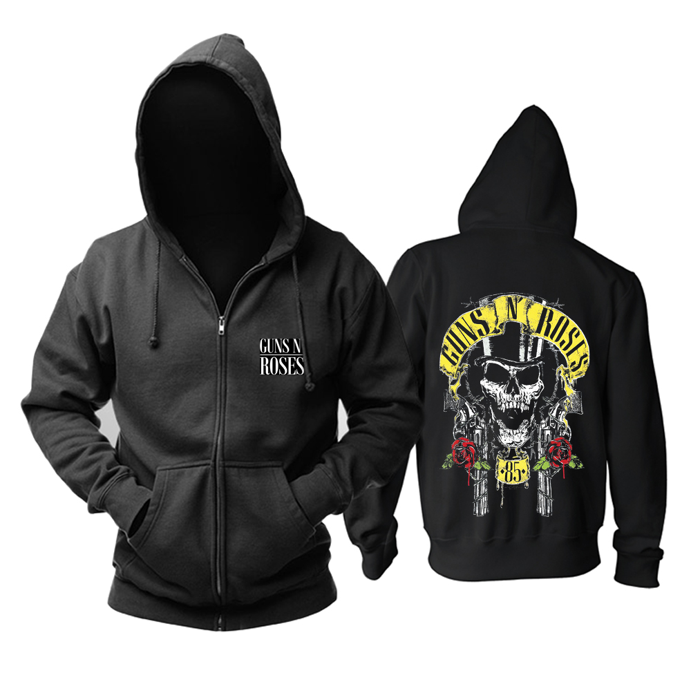 Collectibles Hoodie Guns N' Roses 85 Cover Pullover