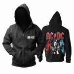 Merchandise Hoodie Acdc Rock Band Artwork Pullover
