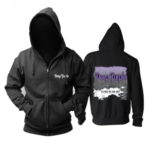 Merch Hoodie Deep Purple A Fire In The Sky Pullover