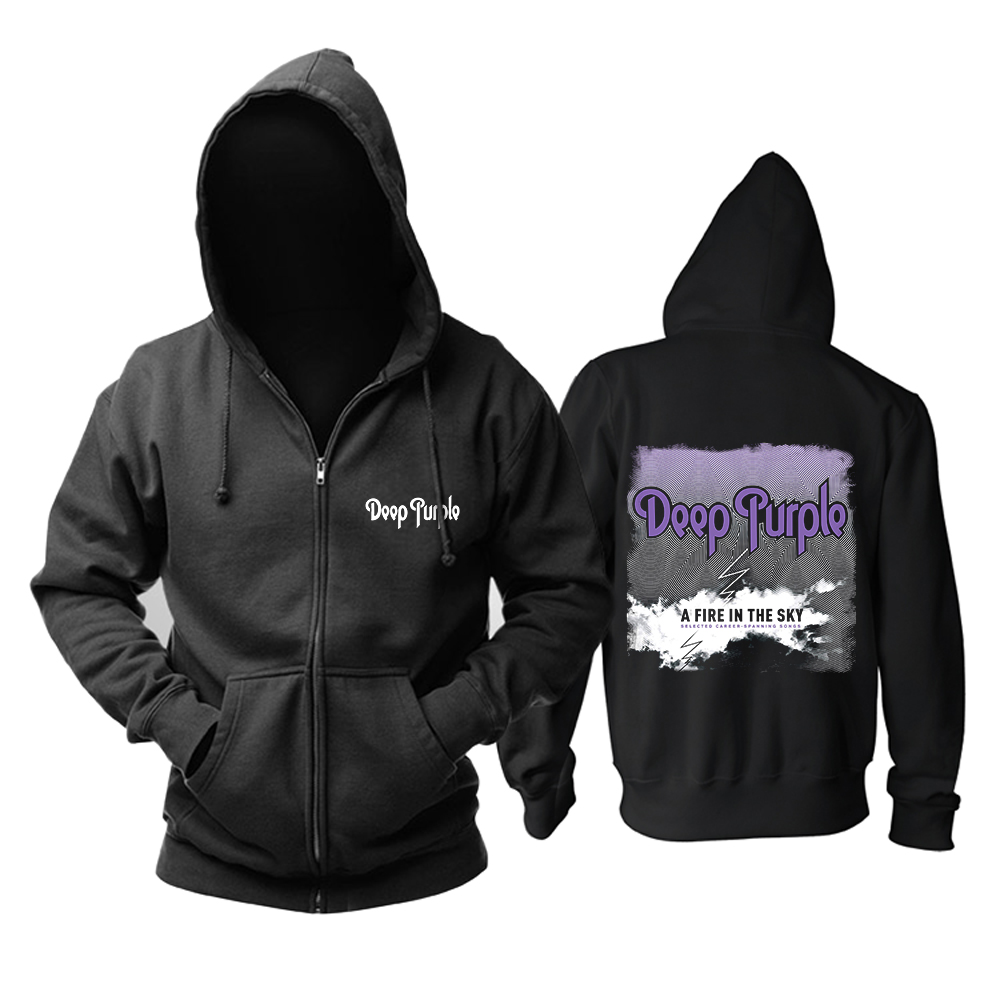 Collectibles Hoodie Deep Purple A Fire In The Sky Pullover