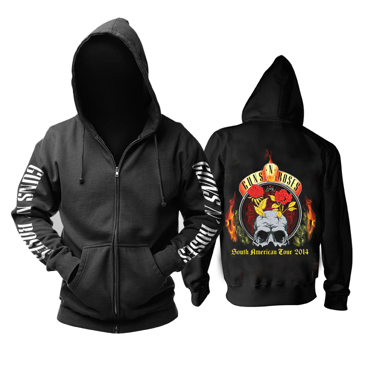 Merchandise Hoodie Guns N' Roses South American Tour Pullover