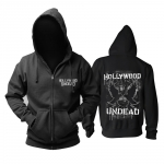 Merch Hoodie Hollywood Undead Logo Black Pullover