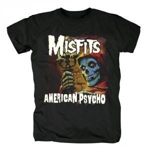 Merch T-Shirt Misfits American Psycho