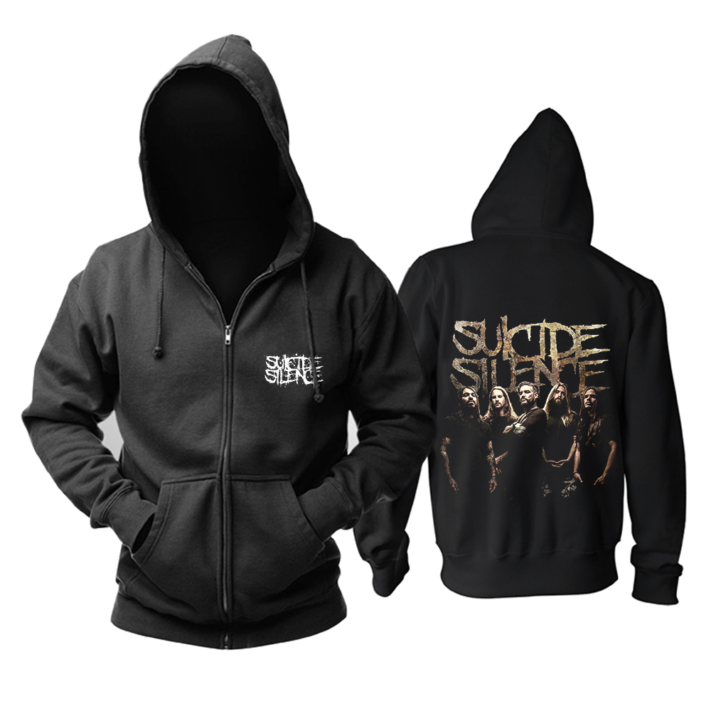 Collectibles Hoodie Suicide Silence Deathcore Band Pullover