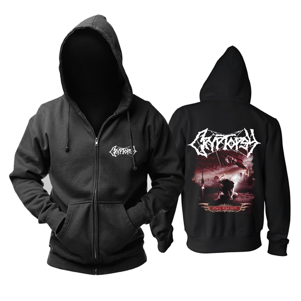 Collectibles Hoodie Cryptopsy Once Was Not Pullover