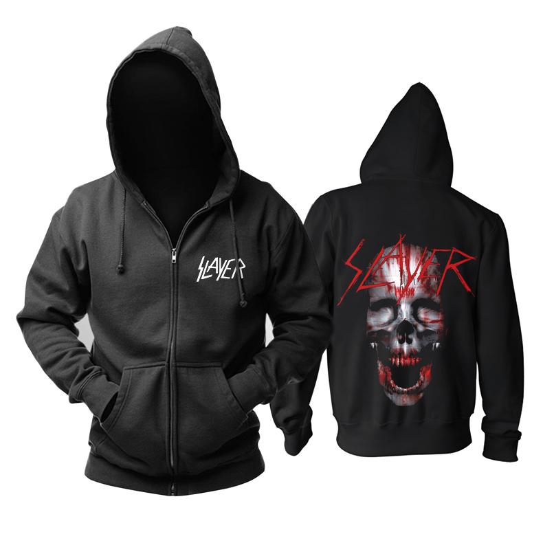 Merchandise Slayer Hoodie Black Sweater Pullover