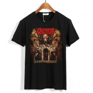 Merchandise T-Shirt Kreator Gods Of Violence Black