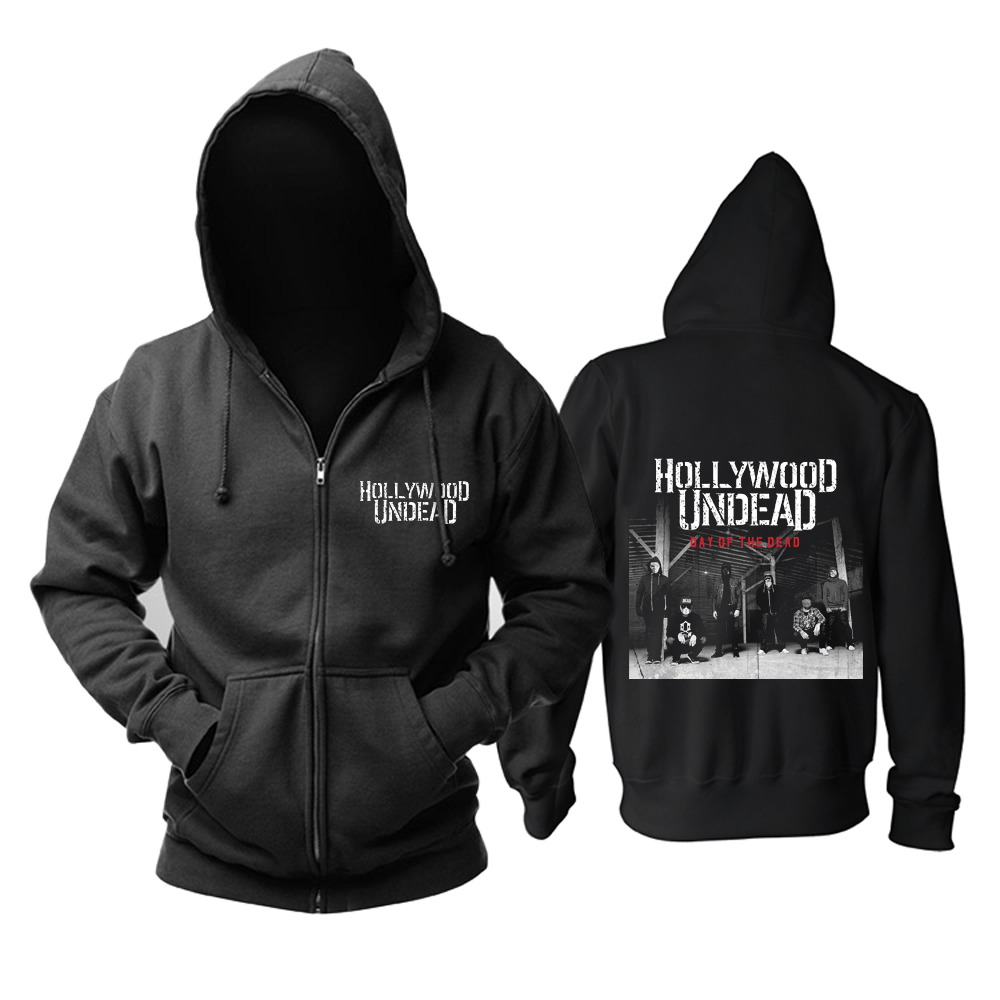 Collectibles Hollywood Undead Hoodie Day Of The Dead Pullover