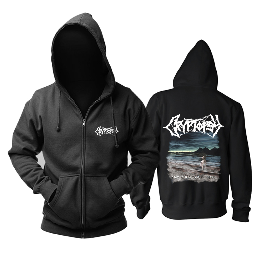 Collectibles Hoodie Cryptopsy And Then You'Ll Beg Pullover