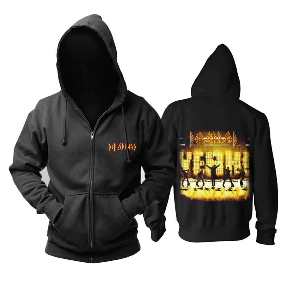 Merchandise Hoodie Def Leppard Yeah! Album Cover Pullover