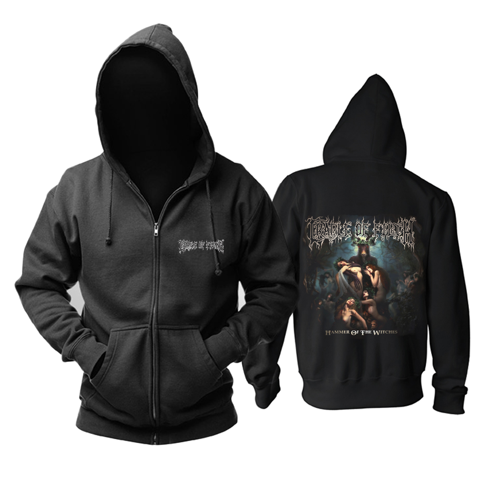 Merch Hoodie Cradle Of Filth Hammer Of The Witches Pullover