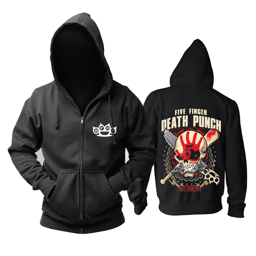 Collectibles Hoodie Five Finger Death Punch Got Your Six Shop Pullover