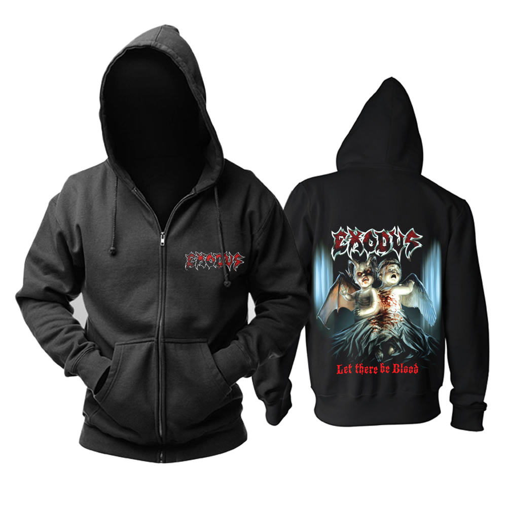 Merchandise Exodus Hoodie Let There Be Blood Pullover