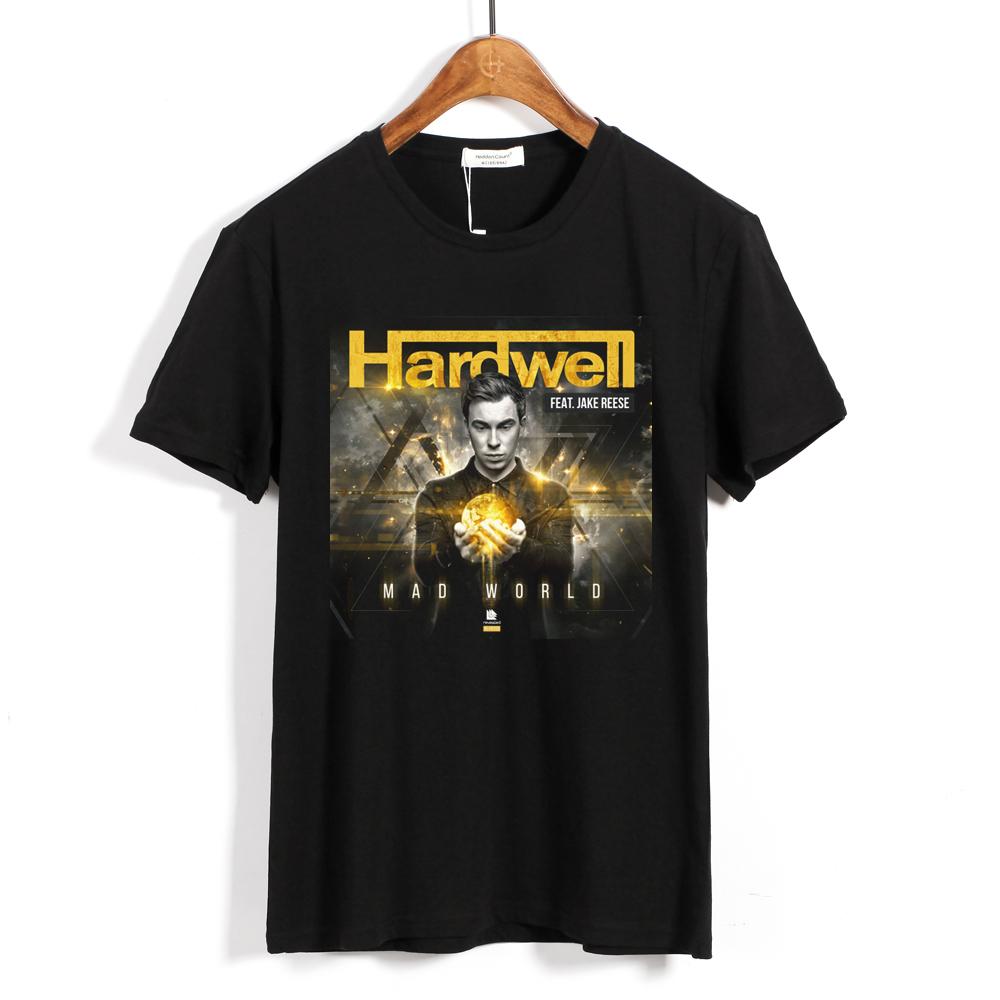 Collectibles - T-Shirt Dj Hardwell Mad World