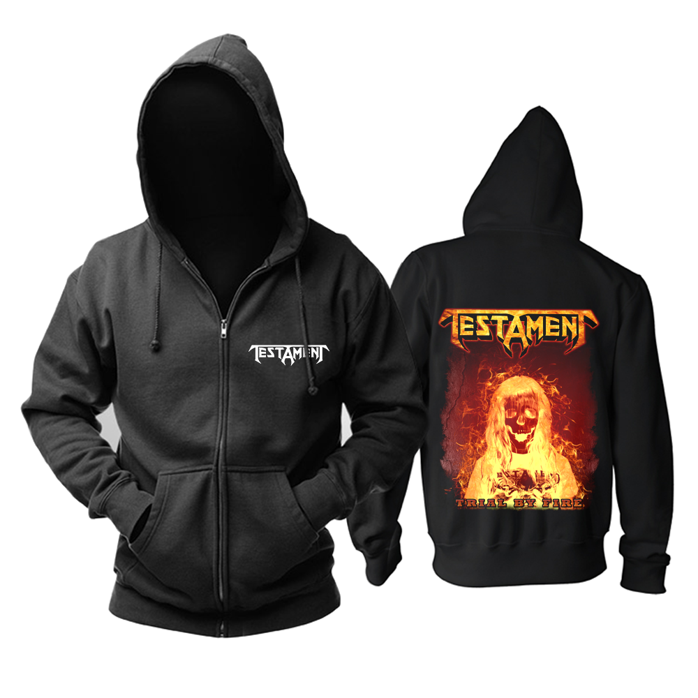 Collectibles Hoodie Testament Trial By Fire Pullover