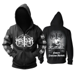 Collectibles Hoodie Marduk Panzer Division Marduk Black Pullover