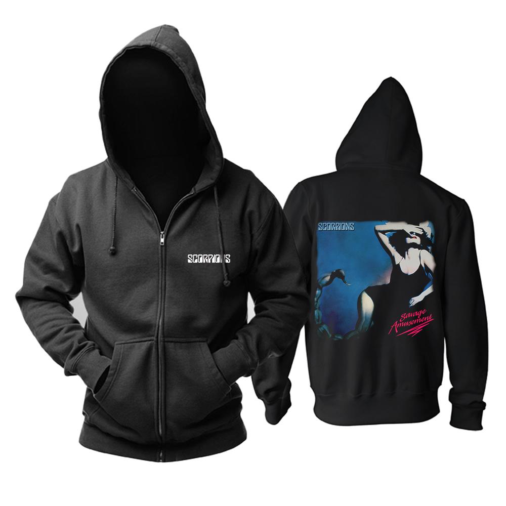Merchandise Hoodie Scorpions Savage Amusement Pullover