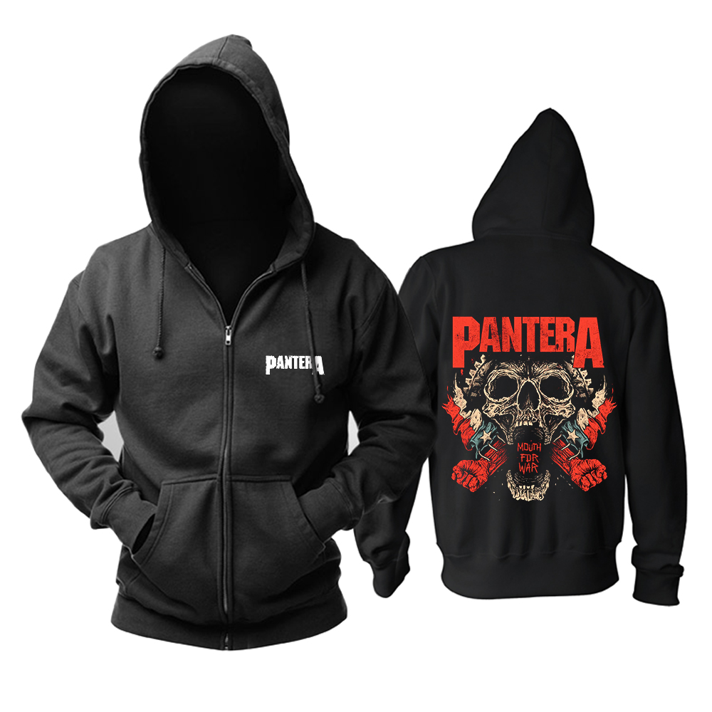 Merch Hoodie Pantera Mouth For War Pullover