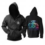 Merchandise Hoodie In Flames Battles Black Pullover
