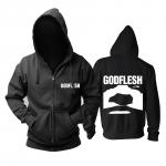Merch Hoodie Godflesh Album Cover Black Pullover