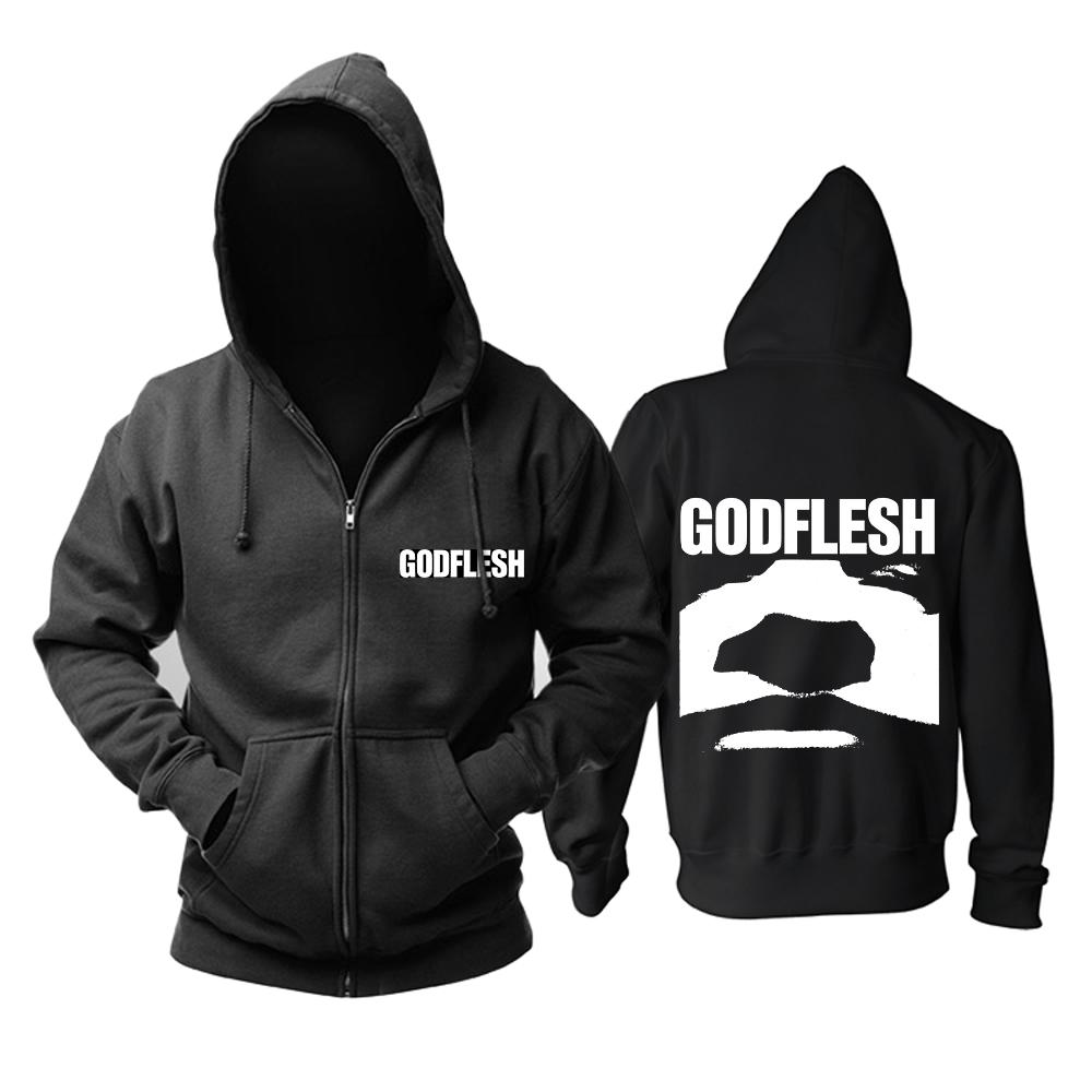 Merchandise Hoodie Godflesh Album Cover Black Pullover