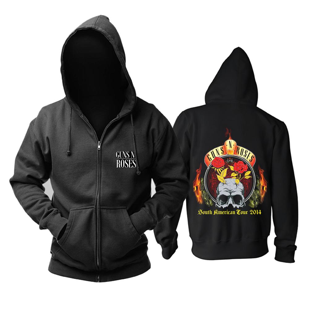 Merchandise Hoodie Guns N' Roses South American Tour 2014 Pullover