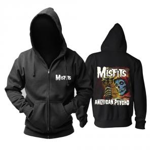 Merch Hoodie Misfits American Psycho Pullover
