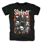 Merchandise - T-Shirt Slipknot Metal Band Masks
