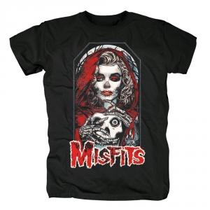 Merch T-Shirt Misfits Little Red