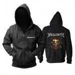 Merchandise Hoodie Megadeth Killing Is My Business Clothes Pullover