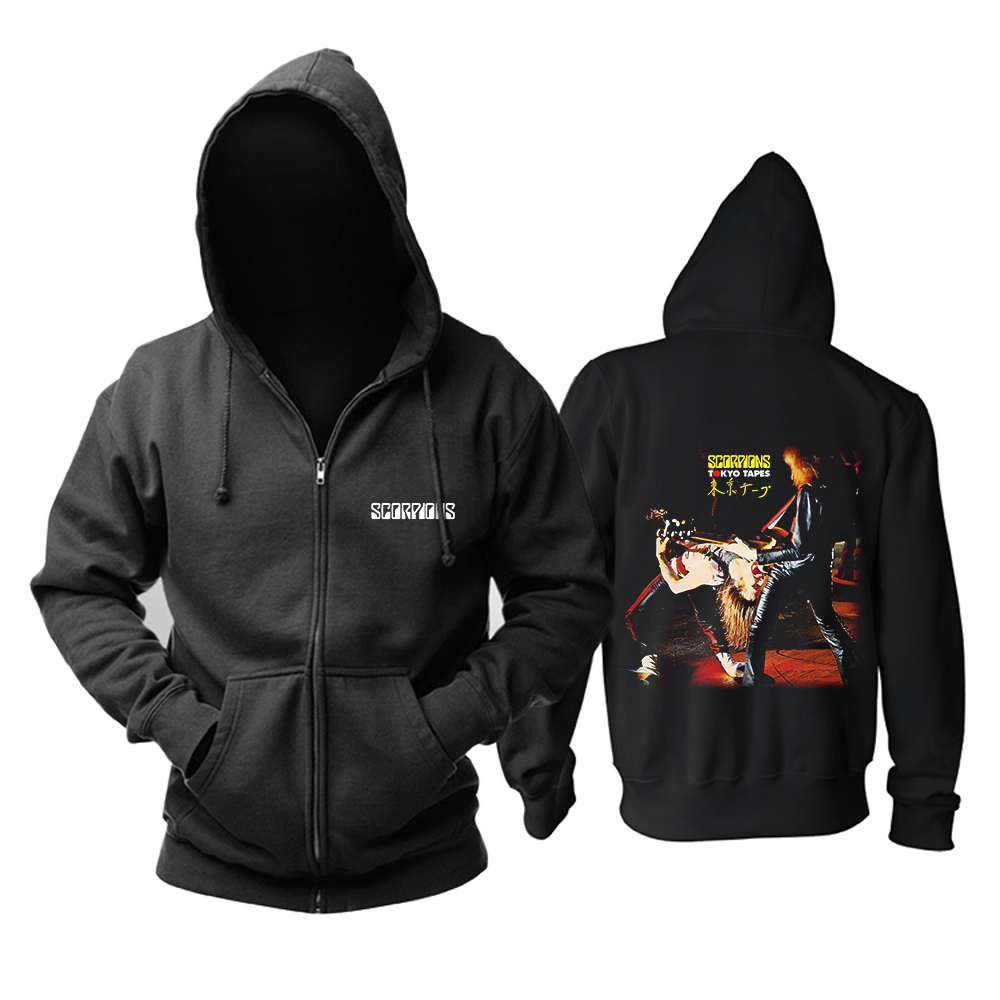 Collectibles Hoodie Scorpions Tokyo Tapes Pullover