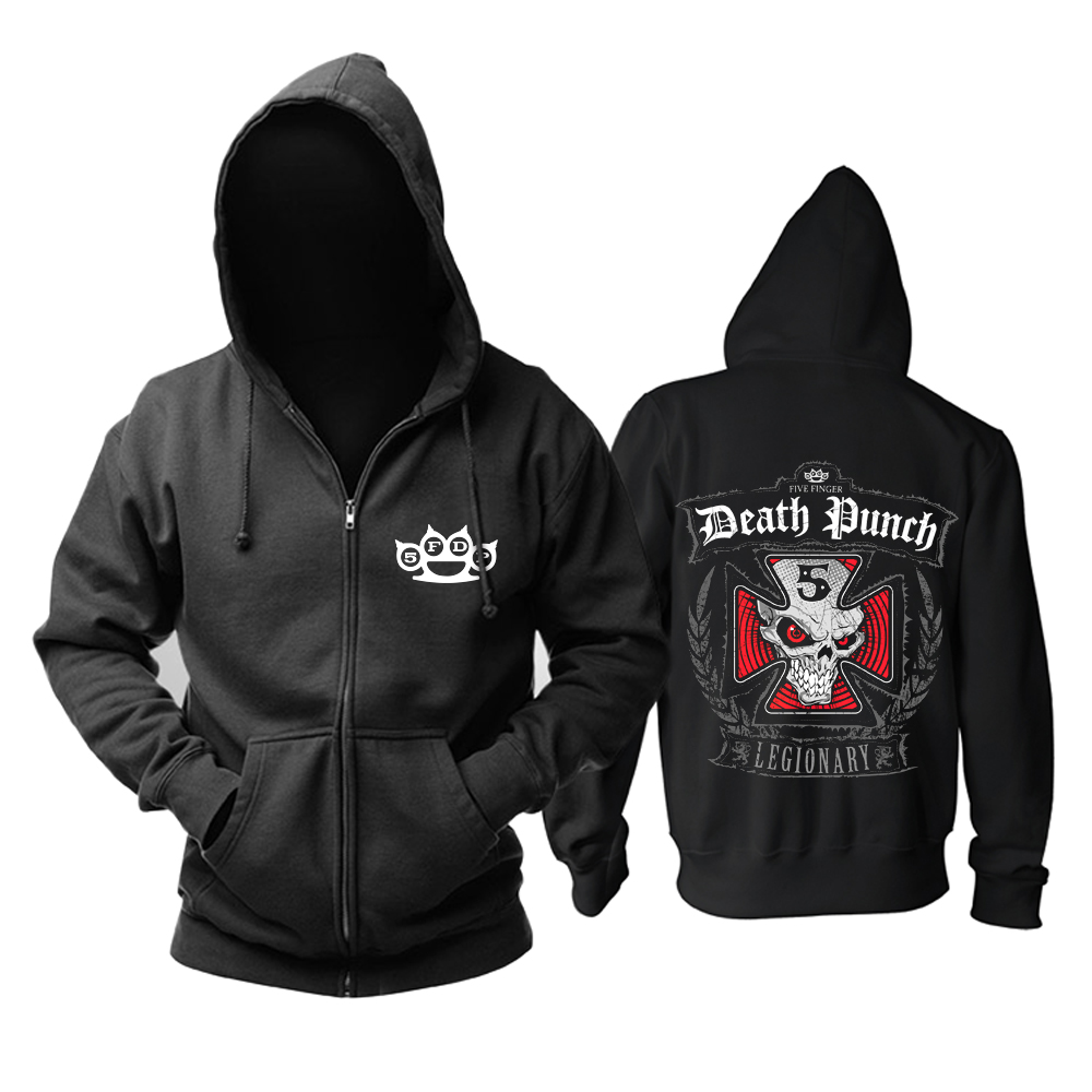 Merch Hoodie Five Finger Death Punch Legionary Pullover