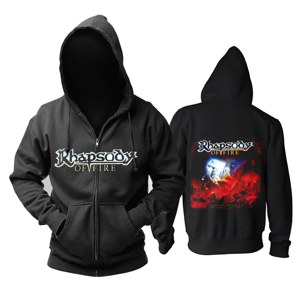 Merchandise Hoodie Rhapsody From Chaos To Eternity Pullover