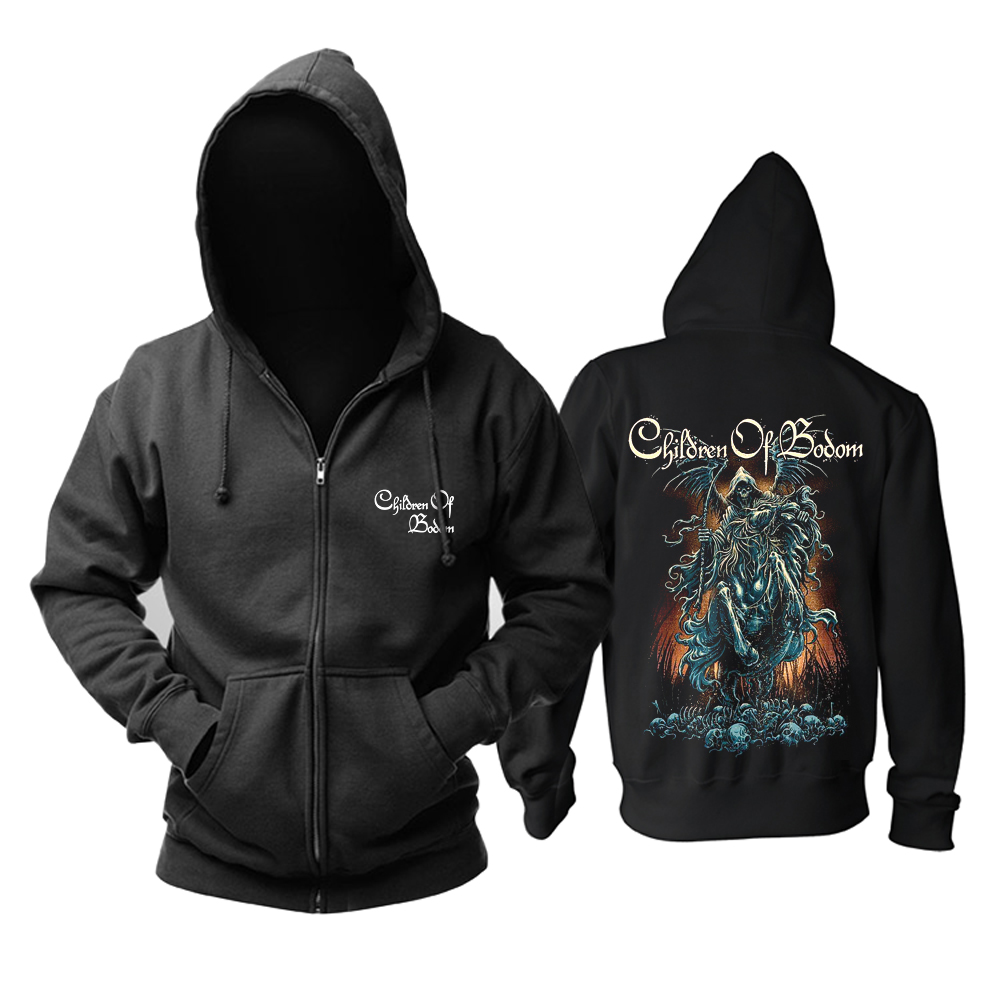 Merch Hoodie Children Of Bodom Death-Metal Music Pullover