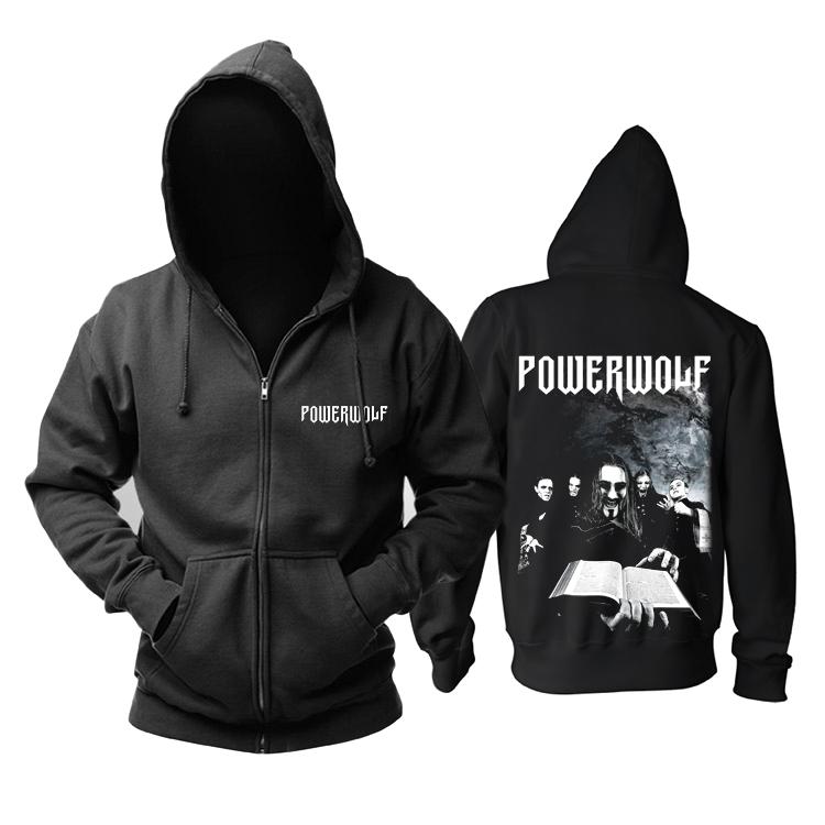 Merchandise Hoodie Powerwolf Metal Band Pullover