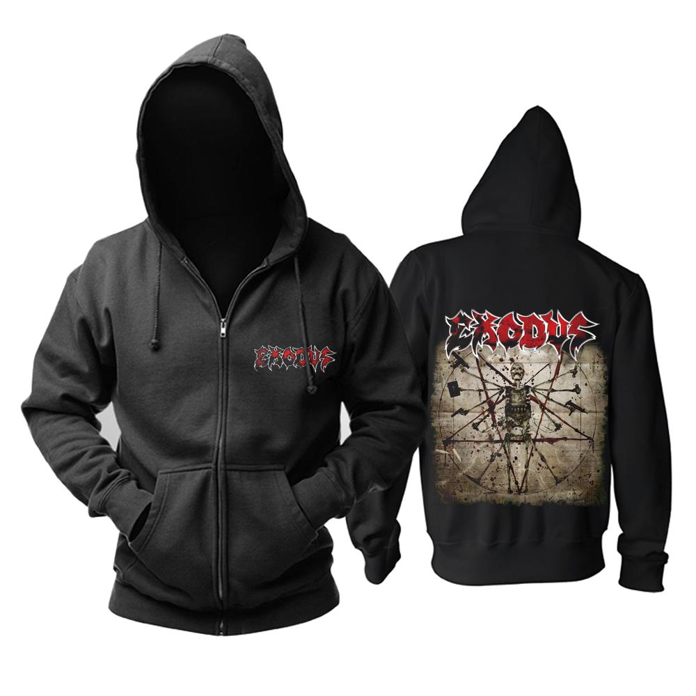 Merch Hoodie Exodus Exhibit B: The Human Condition Pullover
