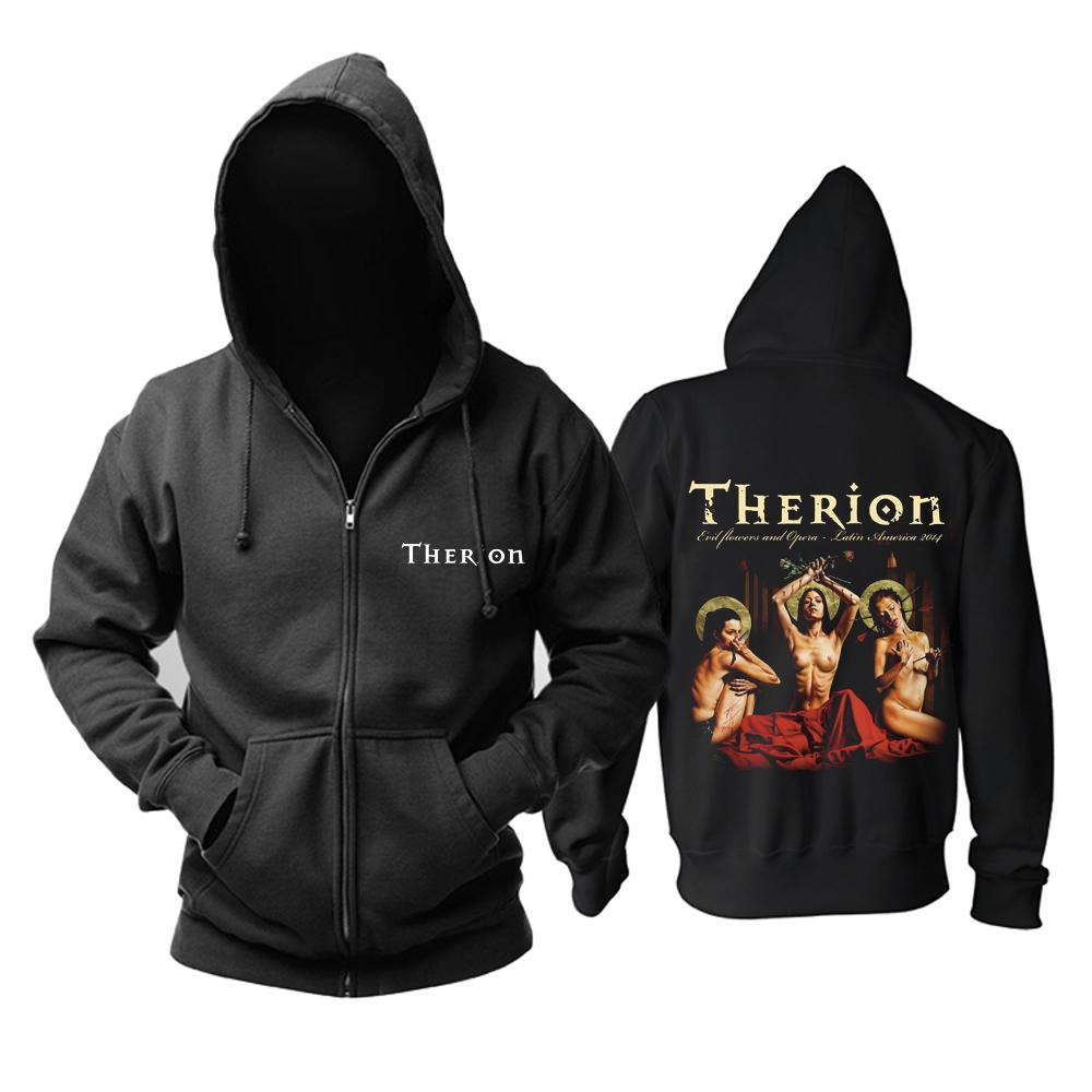 Merchandise Hoodie Therion Les Fleurs Du Mal Pullover