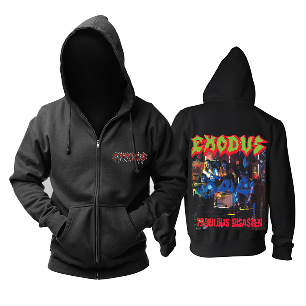 Collectibles Hoodie Exodus Fabulous Disaster Pullover