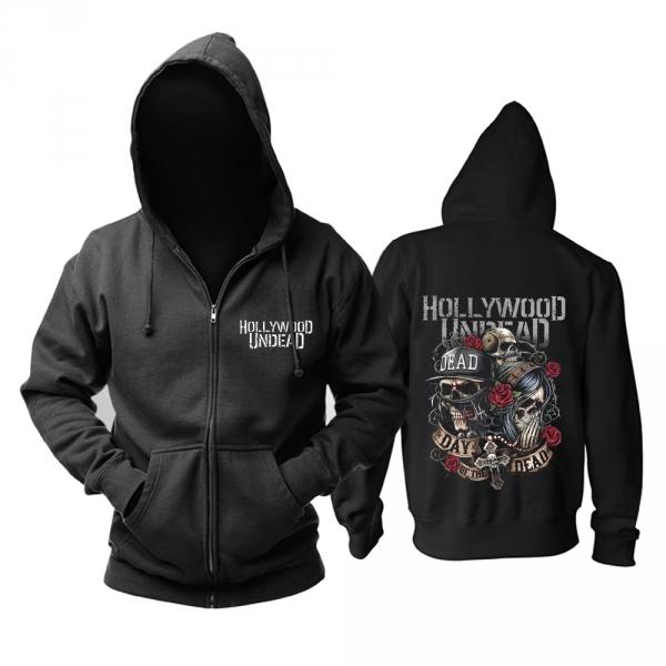 cc8b88453edb8 Hoodie Hollywood Undead Day of the Dead Logo – Shop merchandise on ...
