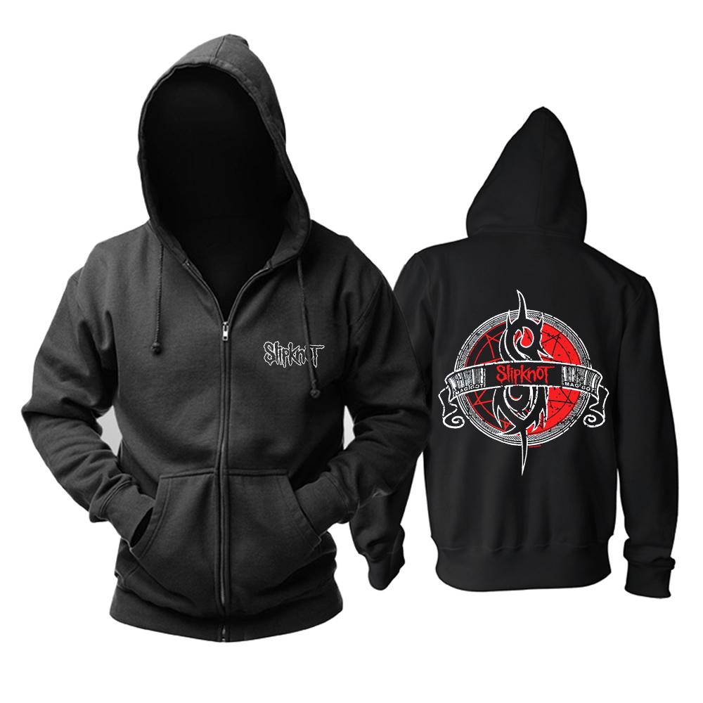 Merch Hoodie Slipknot Maggot Metal Music Pullover