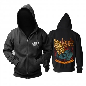 Merchandise Hoodie Lamb Of God Pray For The Cleansing Pullover