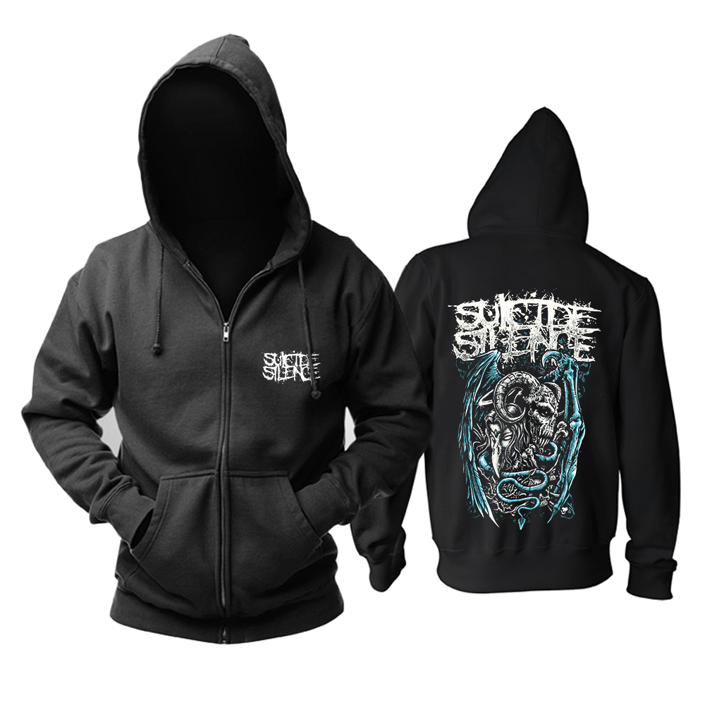 Collectibles Hoodie Suicide Silence Black Deathcore Pullover