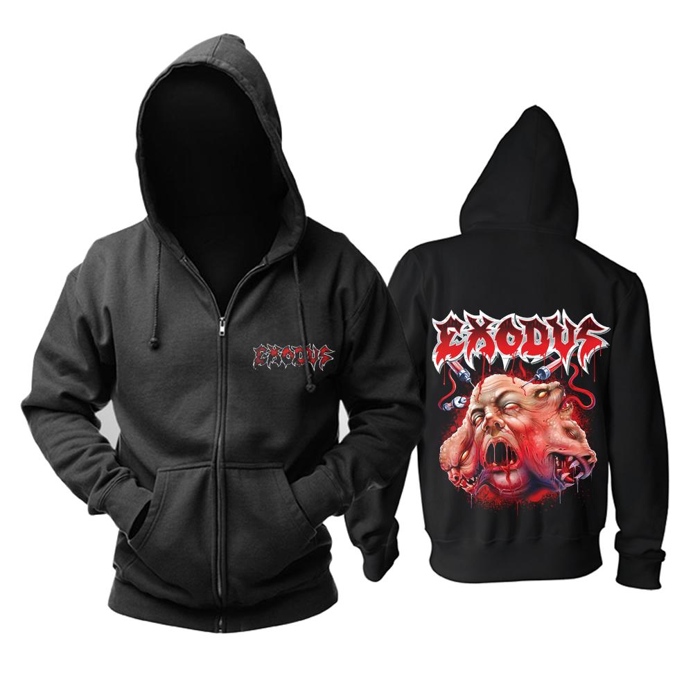 Merch Hoodie Exodus Monster Head Pullover
