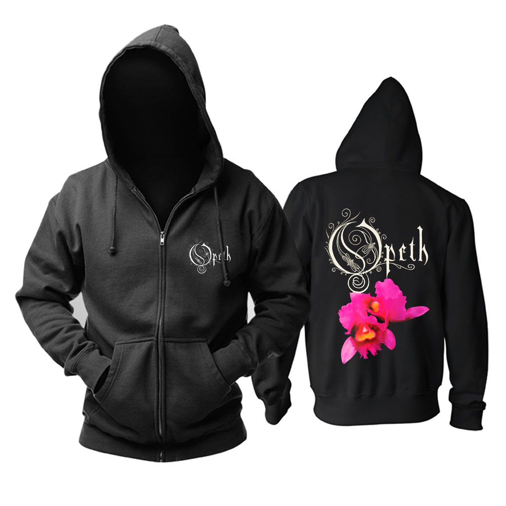 Collectibles Hoodie Opeth Orchid Metal Music Pullover