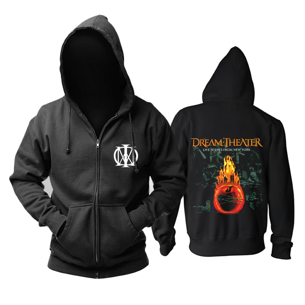 Merch Hoodie Dream Theater Live Scenes From New York Pullover